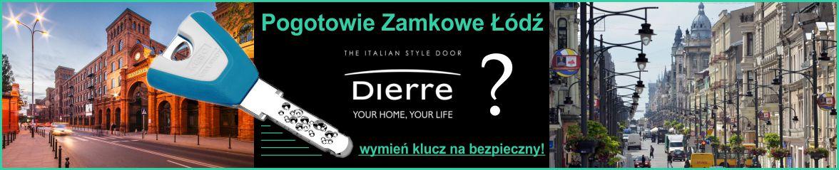 Wymiana zamków Dierre Łódź